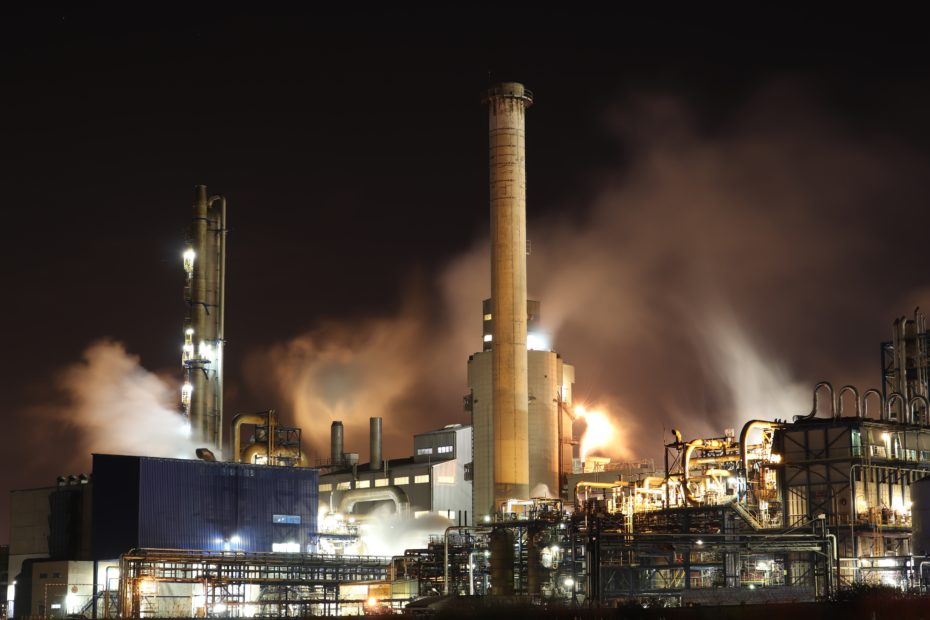 Generic picture of oil refinery