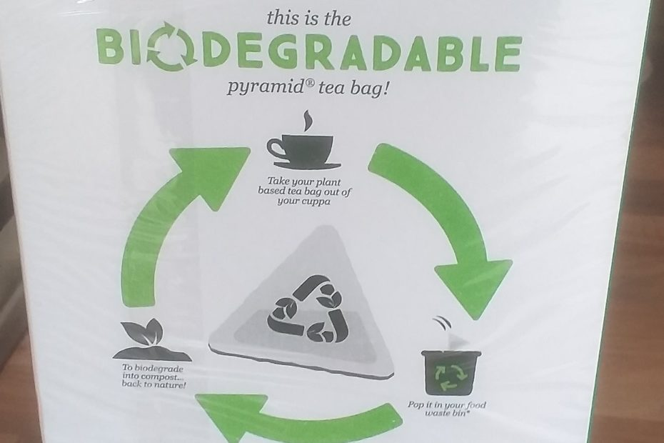 PG Tips changed its tea bags to biodegradable